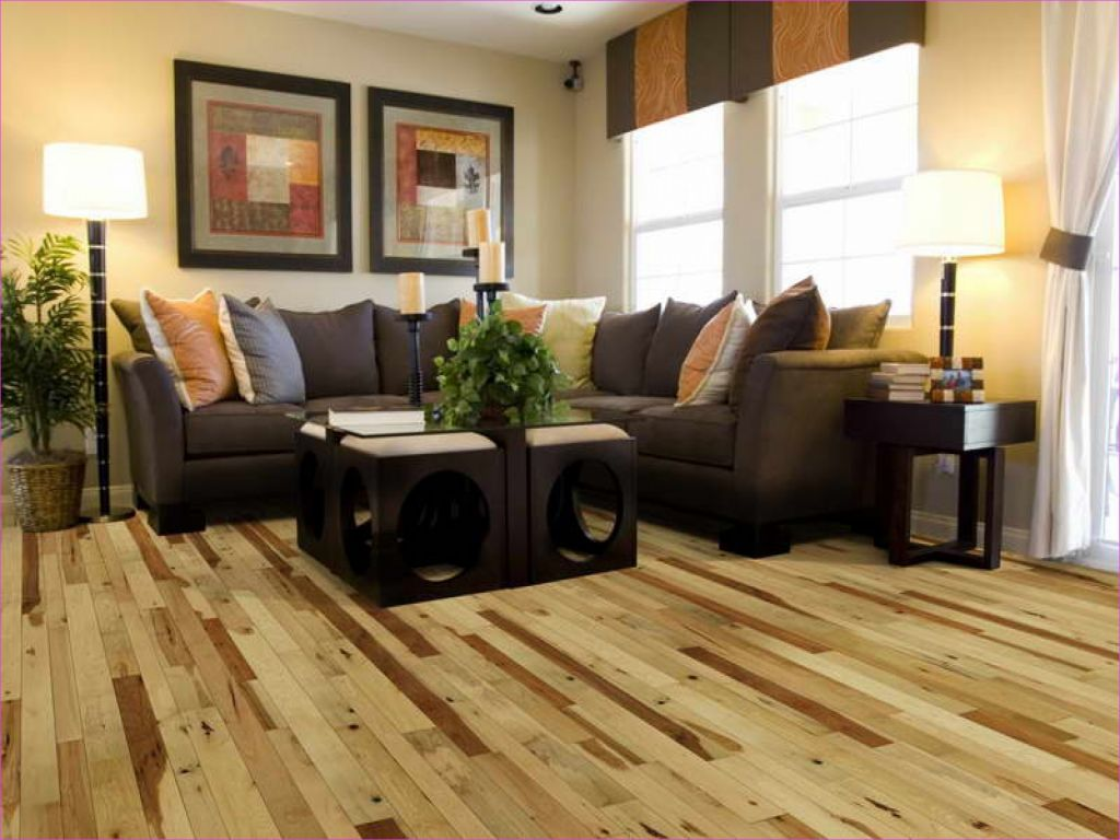 Living Room with Hickory Flooring 29 Floor Design Hickory Wood Floors Hardness 2 1 4 Oak Flooring 8