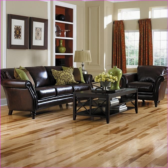 Living Room with Hickory Flooring 46 Natural Hickory Wood Flooring In the Living Room Design Ideas Pinterest 6