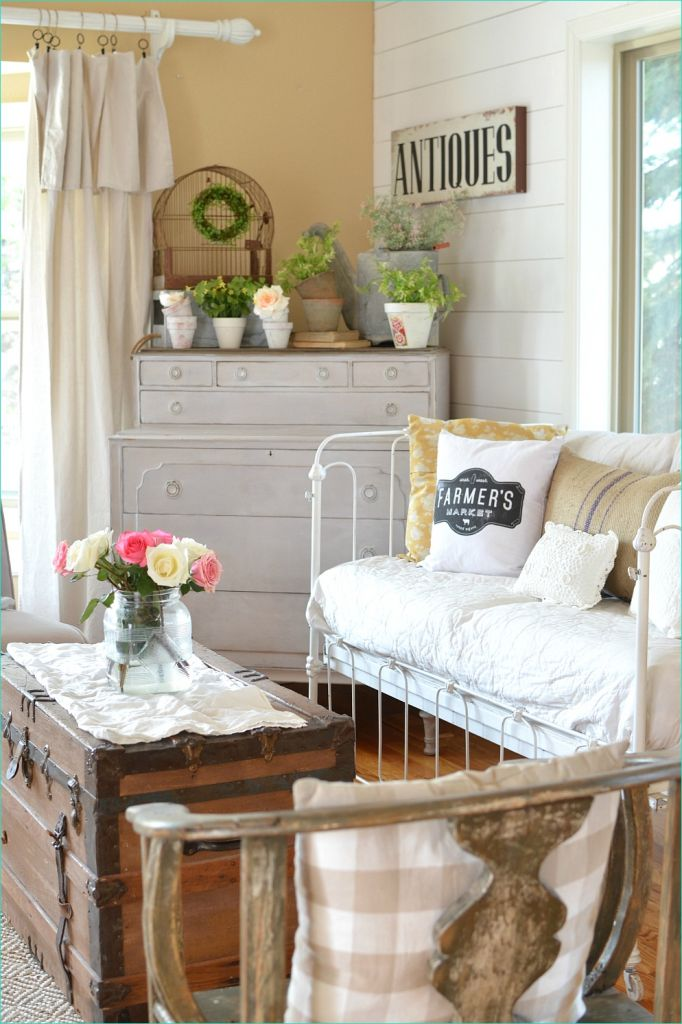 Spring Country Farmhouse Decor 77 Simple Ways Decorate for Spring On A Bud 6