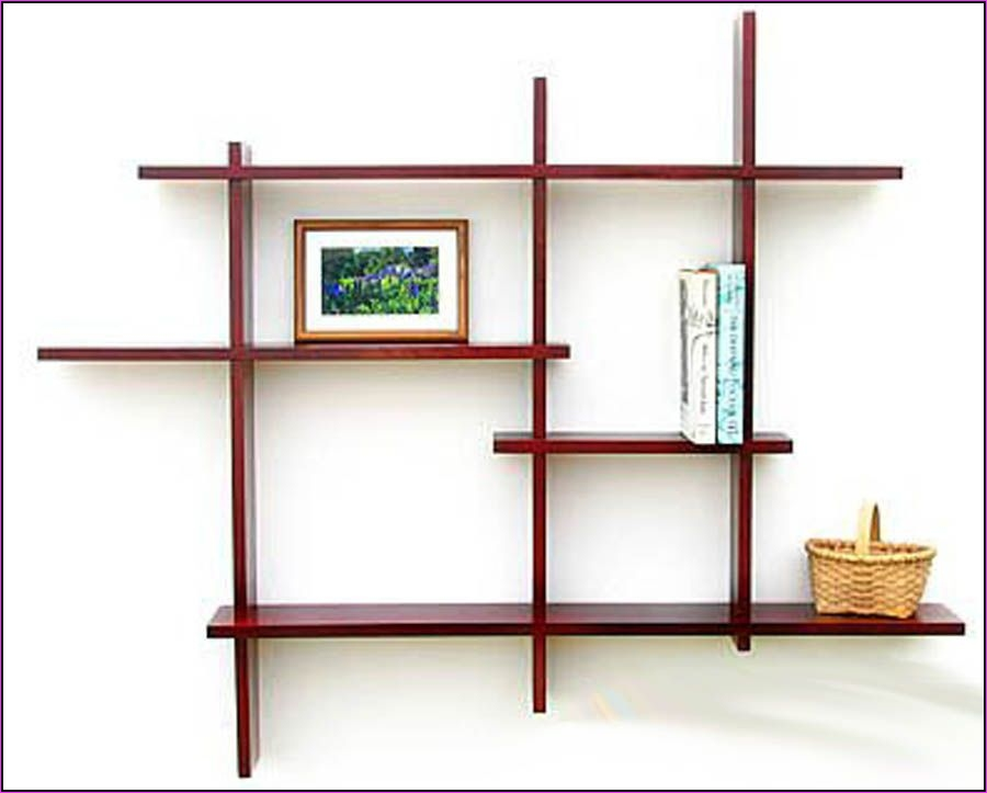Wall Display Shelving Ideas 68 Wooden Wall Mounted Shelf Designs Woodworking Munity Projects Bookshelves 3