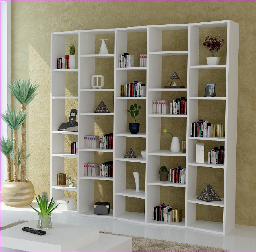 Wall Display Shelving Ideas 72 Furniture White Stain Wooden Modern Shelve Featuring White Stain Wooden Display Shelve and 6