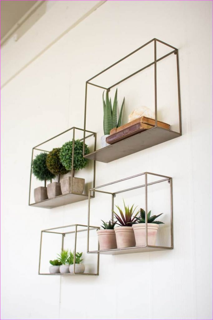Wall Display Shelving Ideas 76 50 Amazing Floating Shelves to Create Contemporary Wall Displays 4