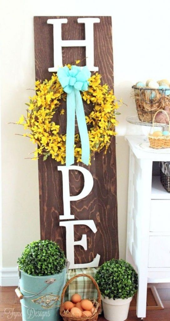 Outdoor Spring Decor 32