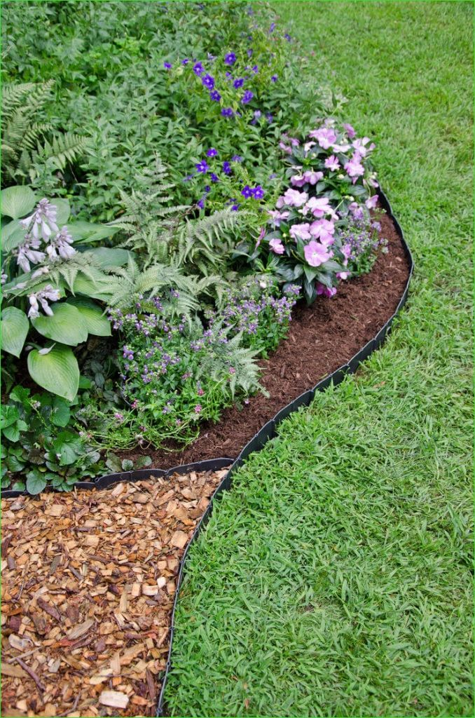 Garden Edging and Borders 68 25 Best Lawn Edging Ideas and Designs for 2019 8