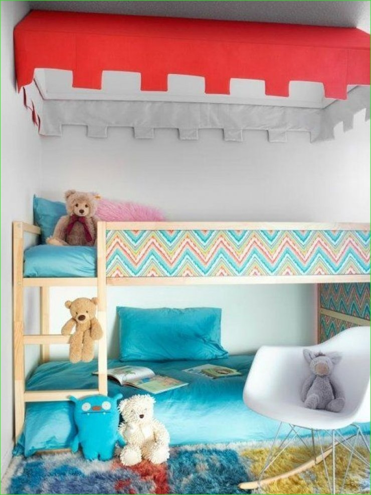 Ikea Kura Beds Kids Room 32 8 Ways to Customize Ikea Kura Bed 6