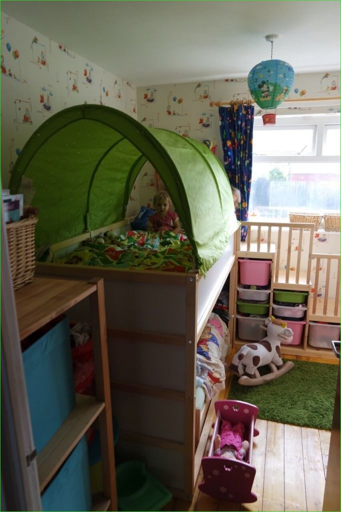 "Ikea Kura Beds Kids Room 22 Our ""ikea Hack"" toddler Friendly Bunkbed Kura Kritter & Trofast ⋆ Mama Geek 9"