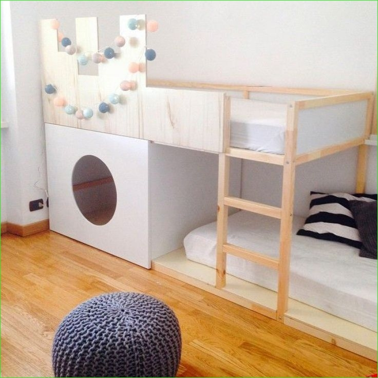 Ikea Kura Beds Kids Room 41 35 Cool Ikea Kura Beds Ideas for Your Kids' Rooms 5