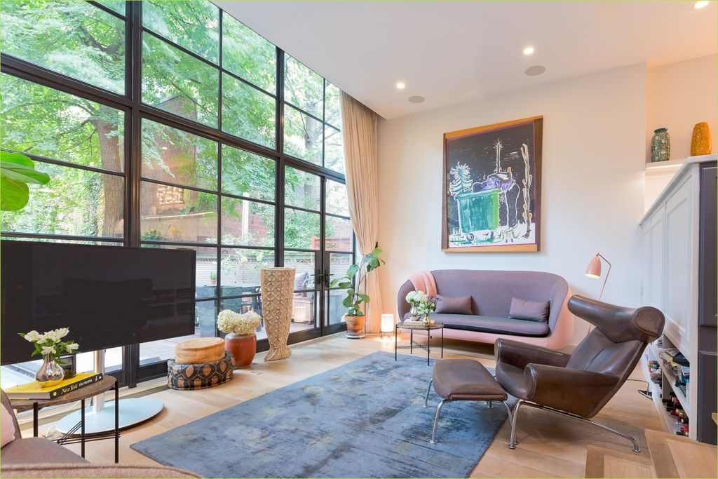 Living Rooms Denmark Decorating Ideas 35 Chelsea townhouse with Modern Danish Design asks A Cool $11m 1