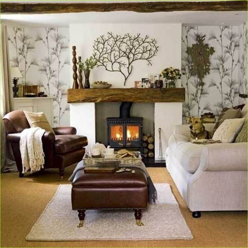 Living Rooms Denmark Decorating Ideas 16 5 Warm and Cozy Small Living Room Ideas with A Fireplace 3