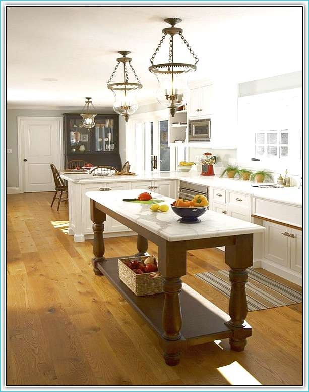 Narrow Kitchen island with Seating 65 Long Narrow Kitchen island Designs 4