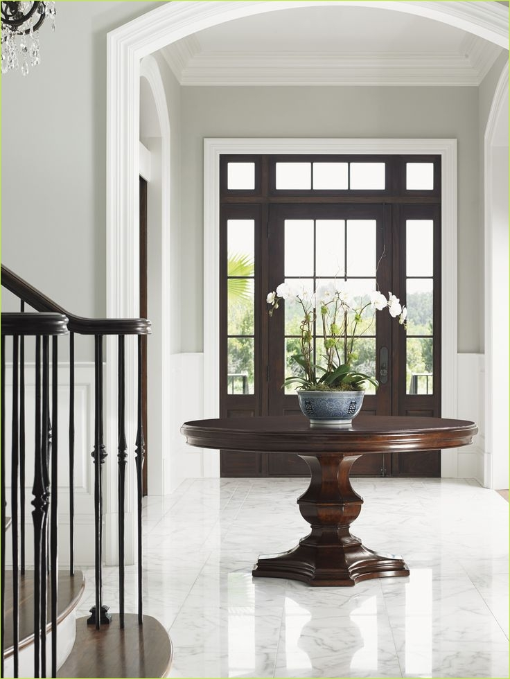 Round Foyer Entrance 96 Best 25 Round Entry Table Ideas On Pinterest 6
