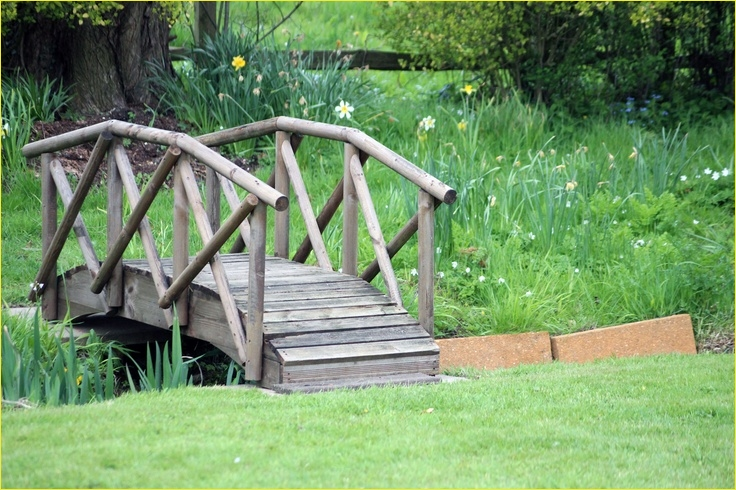 Small Backyard Bridge 15 Plans for Building A Bridge Over A Creek Woodworking Projects & Plans 2