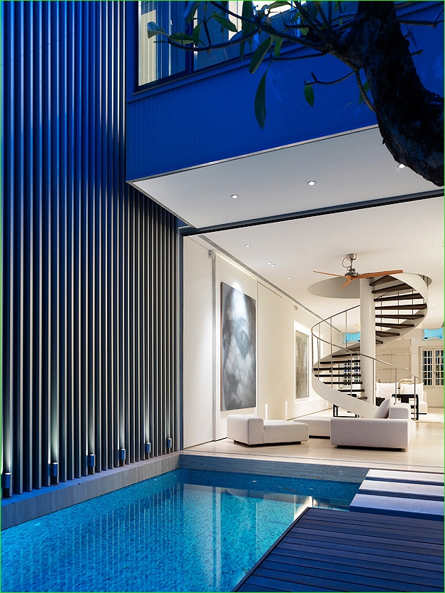 Small Indoor Swimming Pool for Minimalist House 65 Modern Minimalist House Design In Singapore by G & G 4