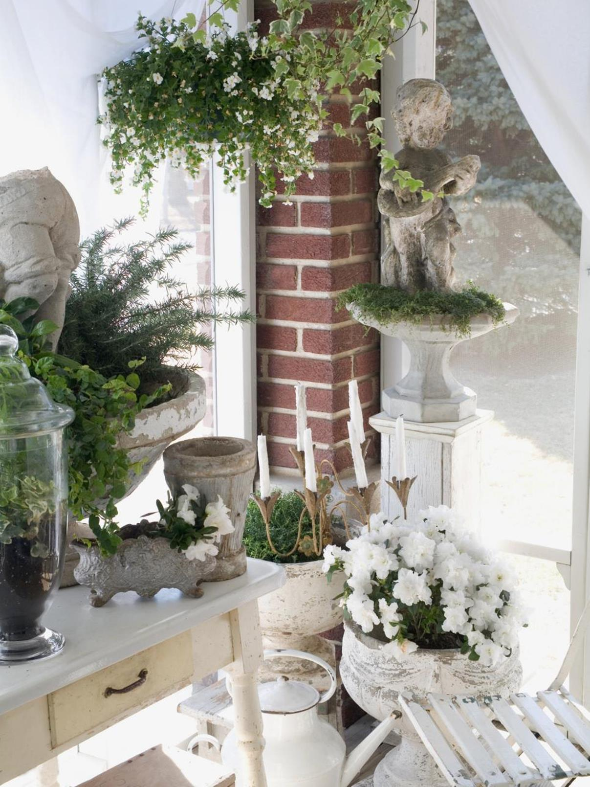 Shabby Chic Garden Decor 27