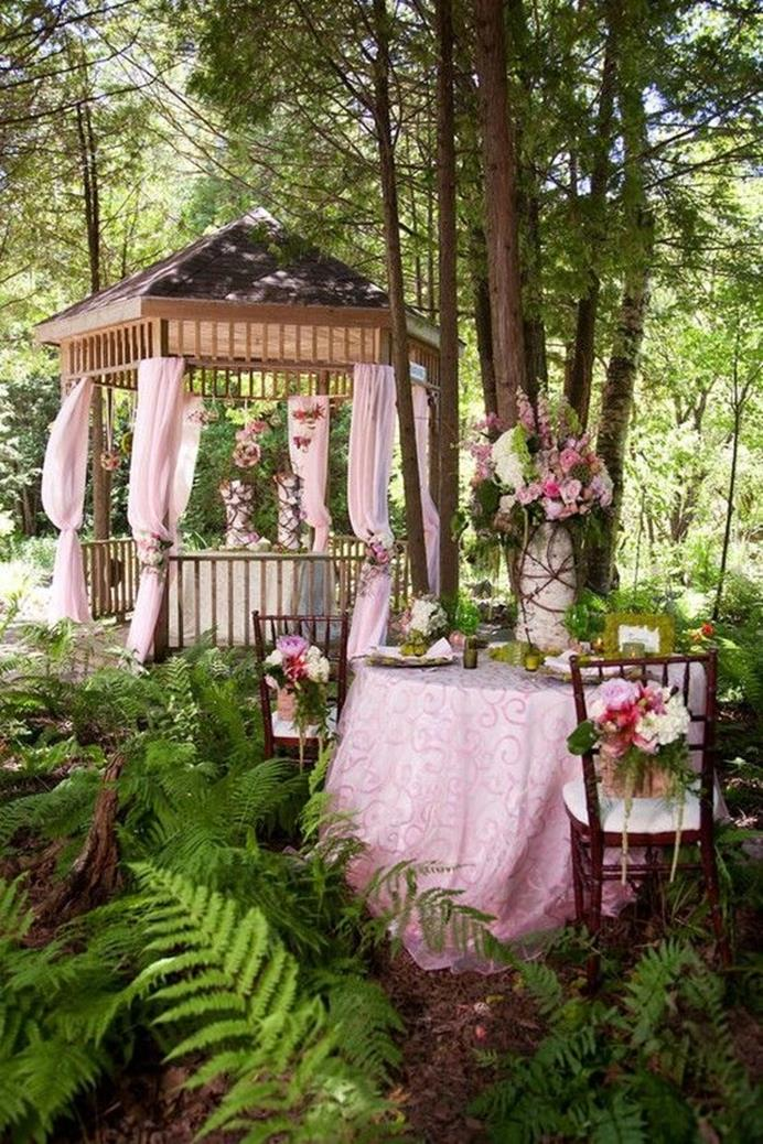 Shabby Chic Garden Decor 59