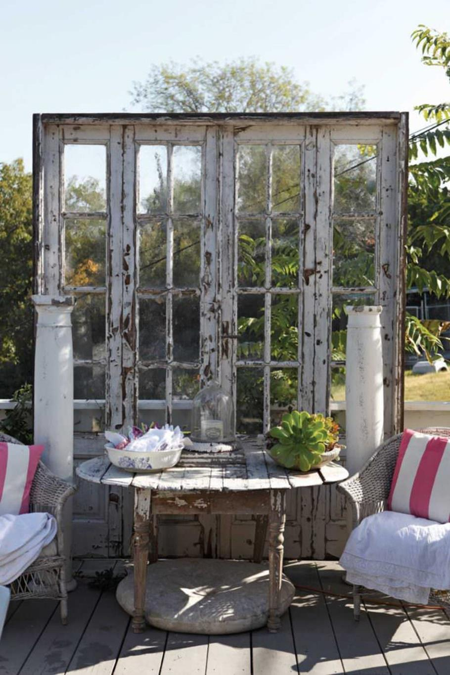 Shabby Chic Garden Decor 66