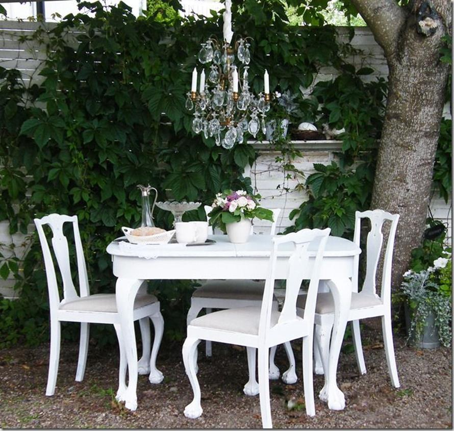 Shabby Chic Garden Decor 67