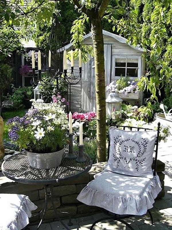 Shabby Chic Garden Decor 70