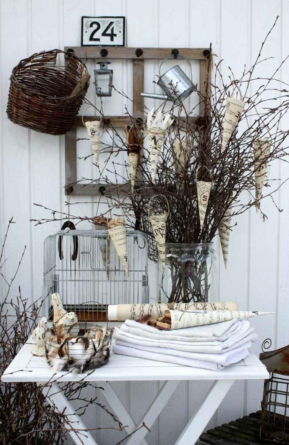 Shabby Chic Garden Decor 72