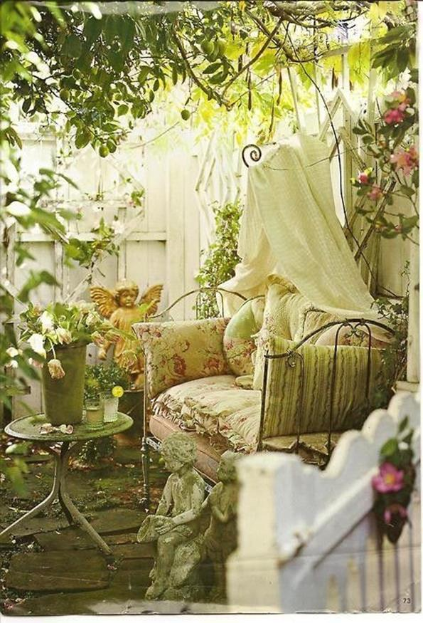 Shabby Chic Garden Decor 75