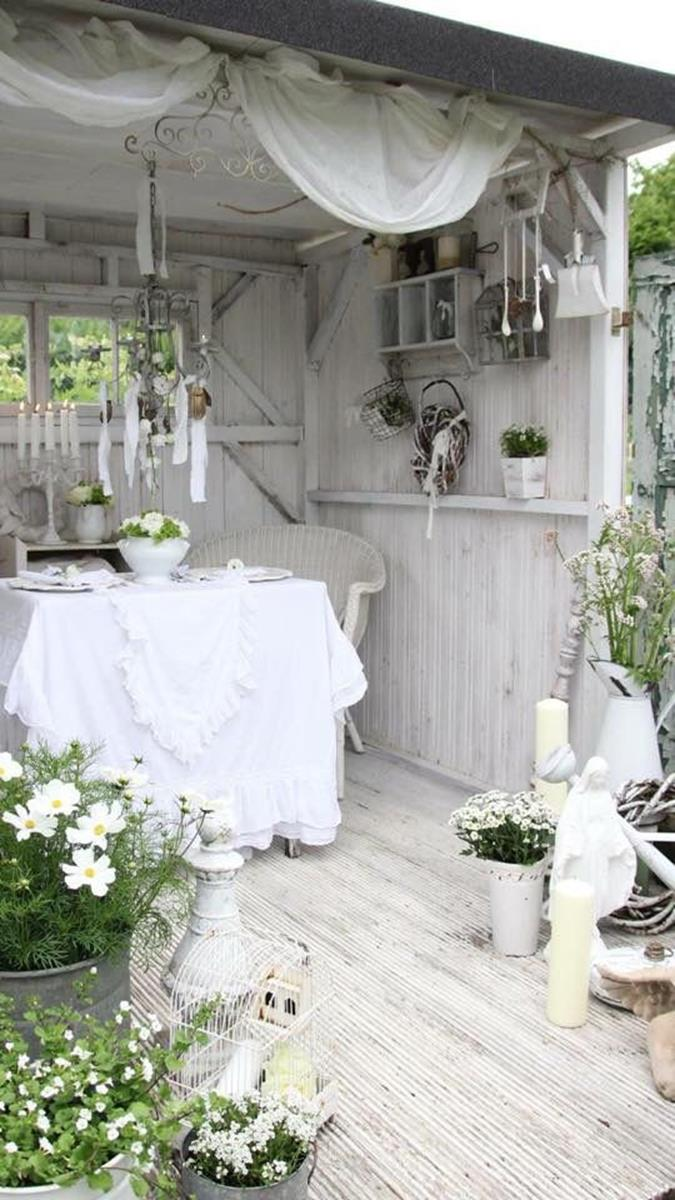 Shabby Chic Garden Decor 76