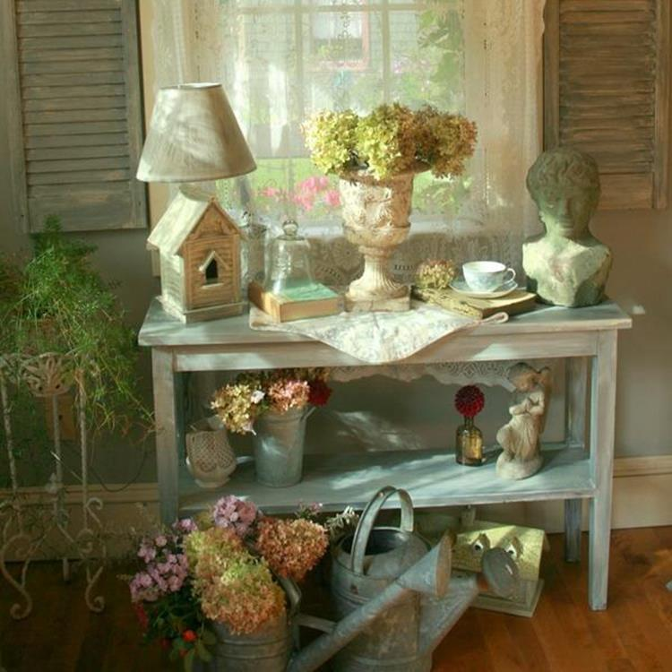 Shabby Chic Garden Decor 87