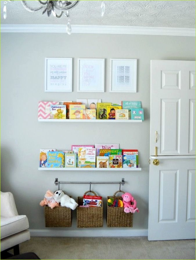 Nursery Wall Shelf Ikea 85 Nursery Bookshelf Nursery Pinterest 8