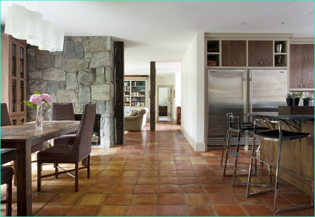Terracotta Tiles Interior Design 88 Persimmon Rustic Dining Room Other Metro by Siemasko Verbridge 2