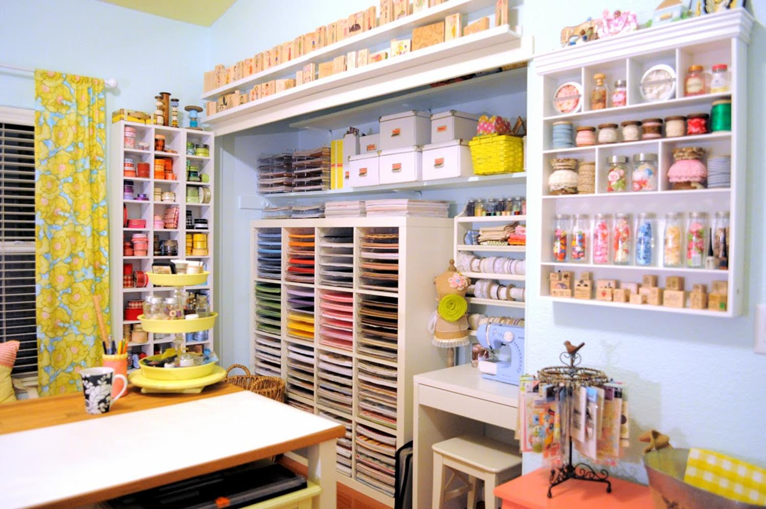 Craft Room Paper Storage 23