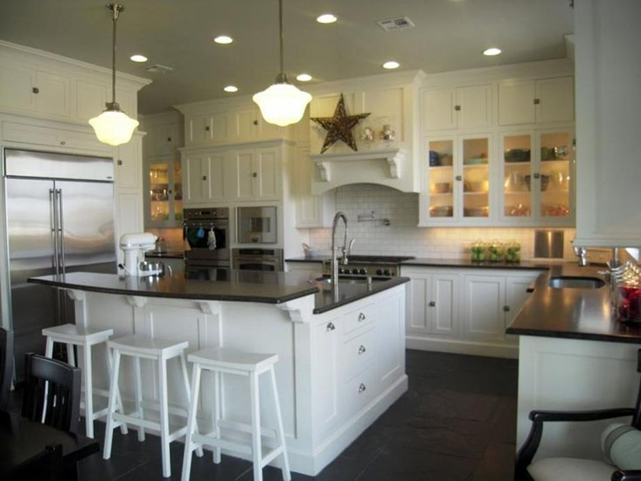 Gourmet Farmhouse Kitchen 5