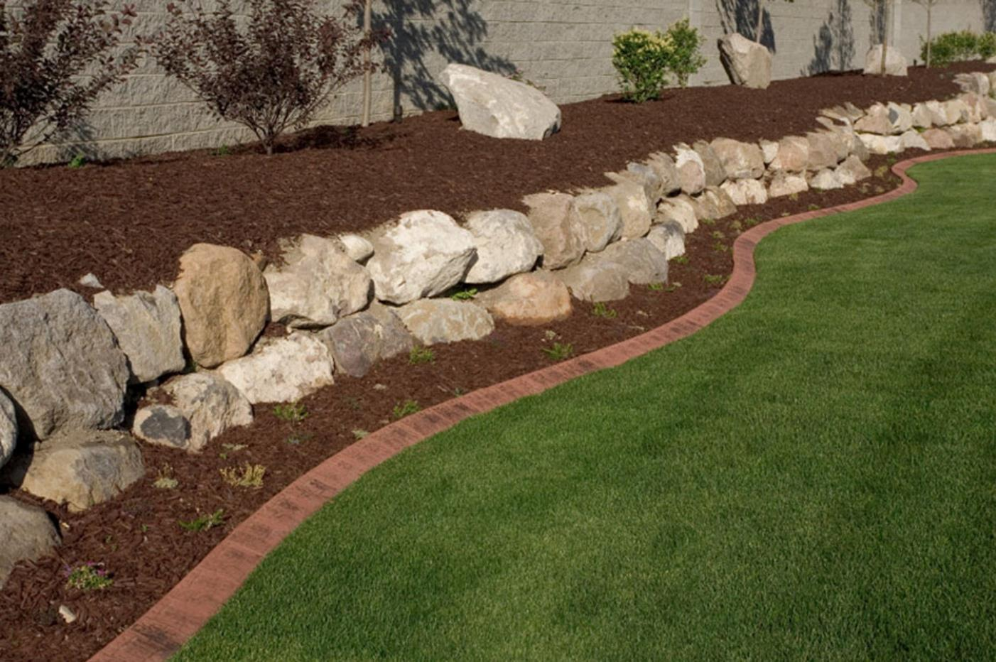 Wood Lawn Edging Ideas 15