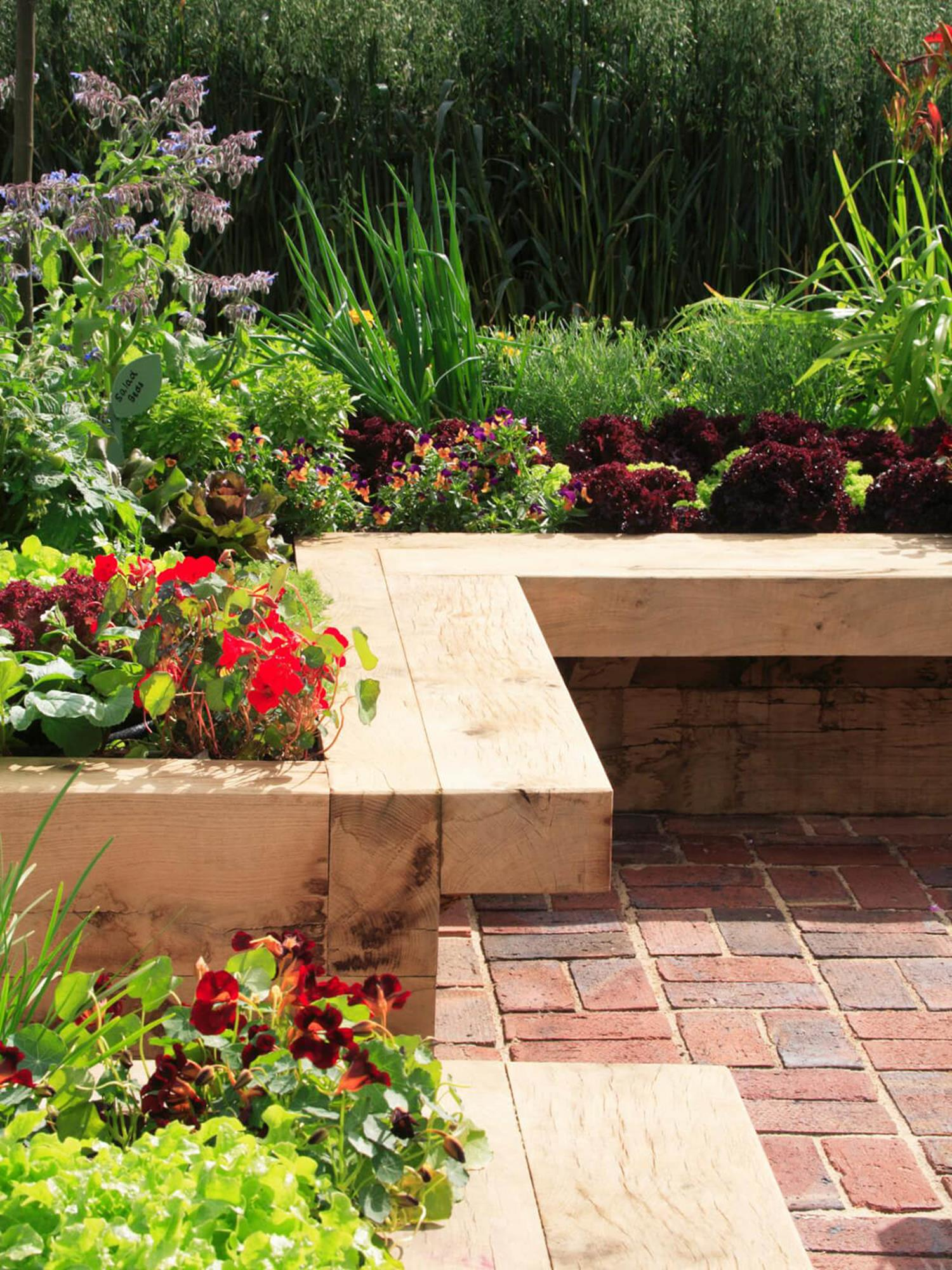 Wood Lawn Edging Ideas 28