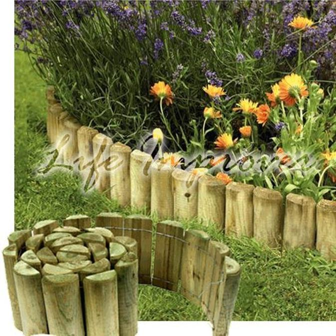 Wood Lawn Edging Ideas 31