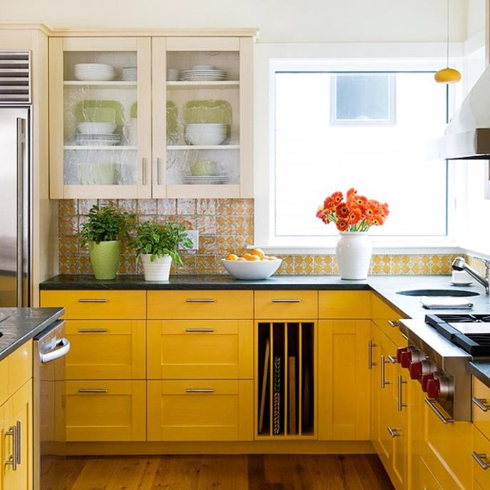 Projects to Make Kitchen More Neat and Beautiful 22