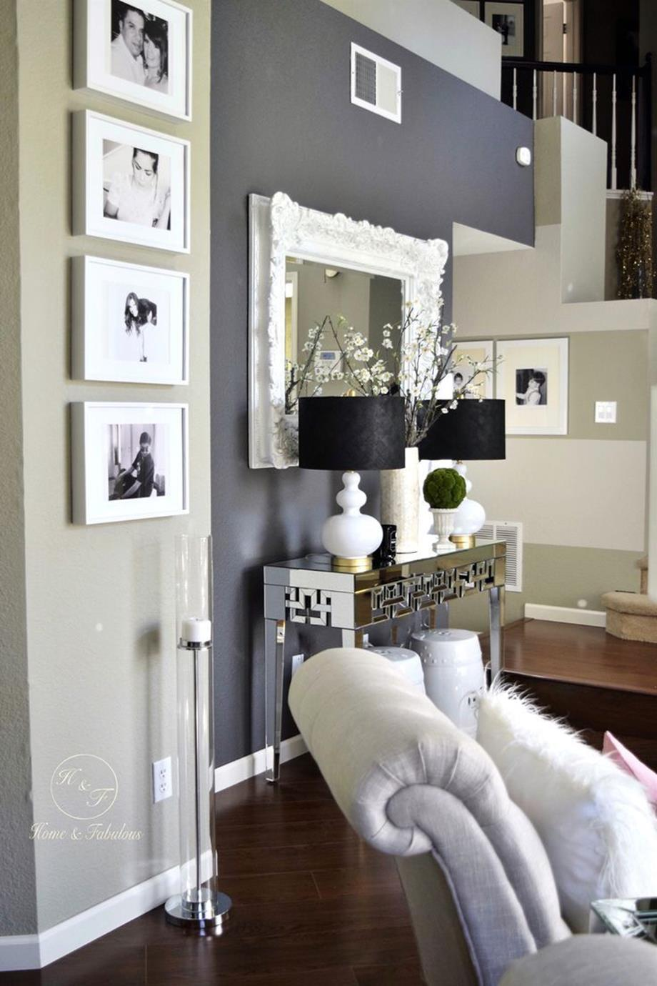 Living Room Accent Wall Color Combinations 14