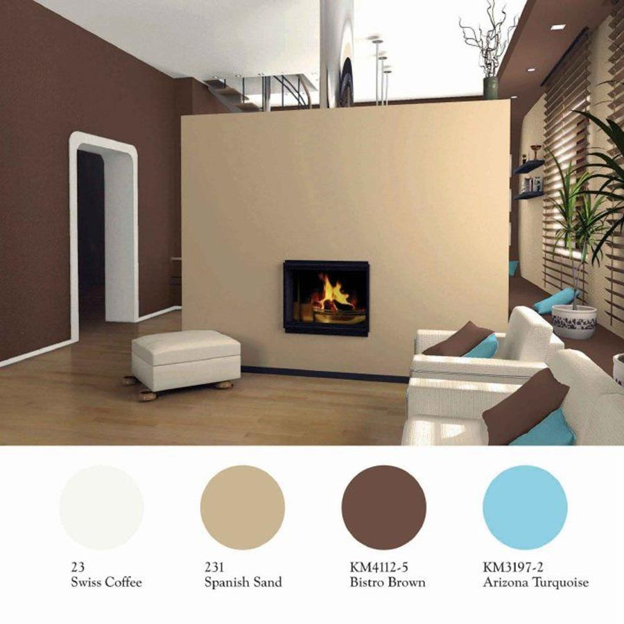 Living Room Accent Wall Color Combinations 6