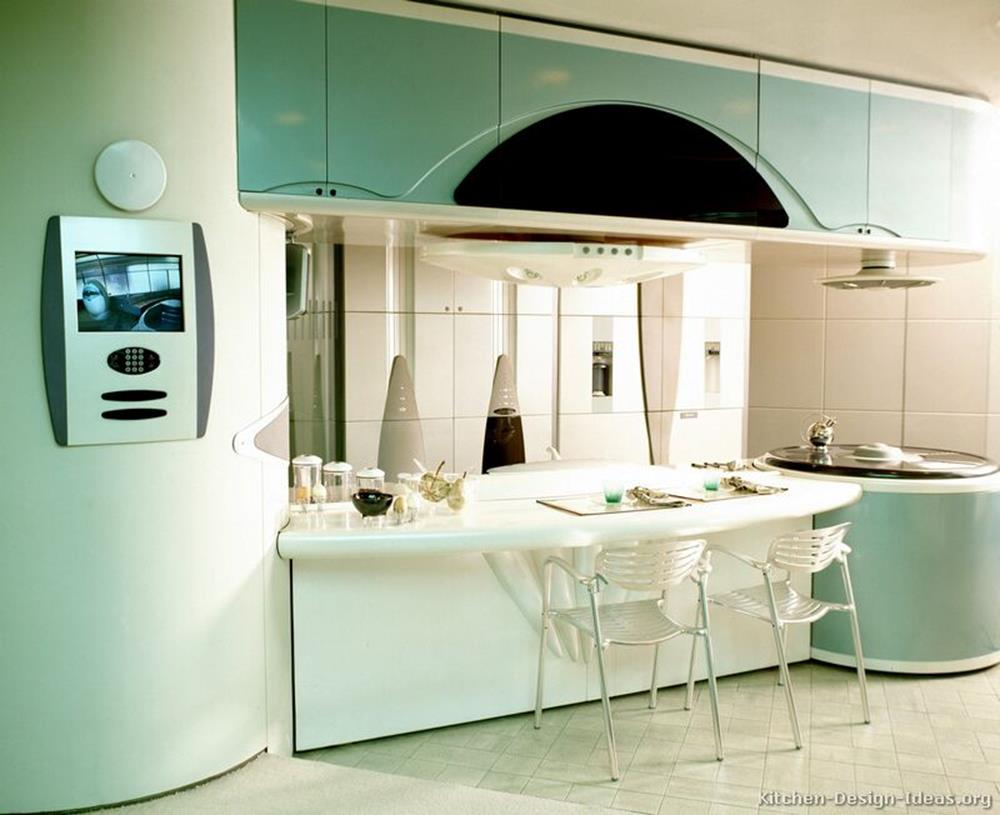 Awesome Retro Style Kitchen Design 30