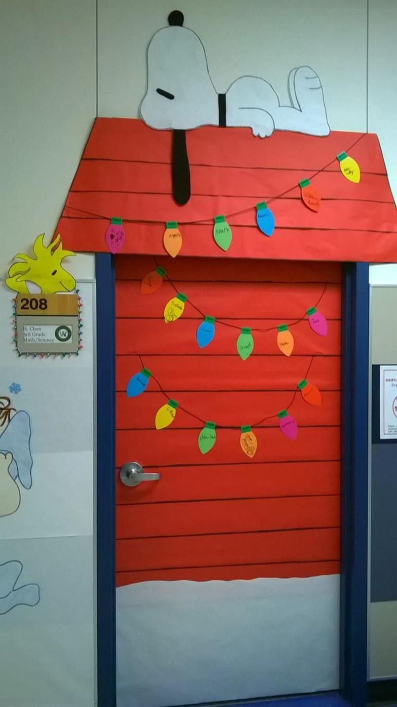 Christmas Door Decorating Contest Winners 1