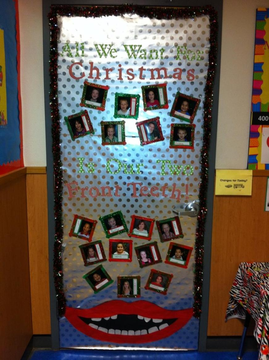 Christmas Door Decorating Contest Winners 2