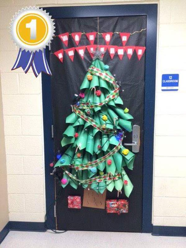 Christmas Door Decorating Contest Winners 50