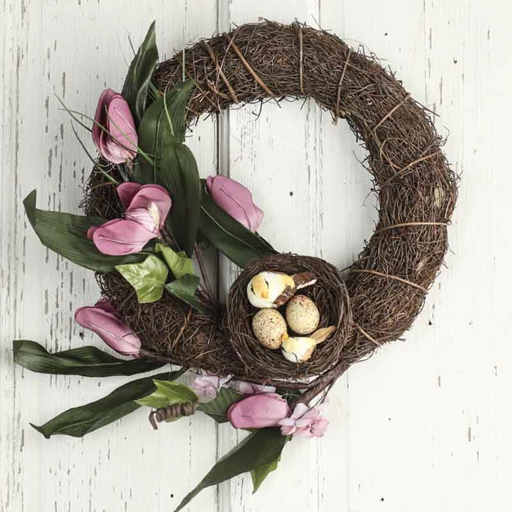 Beautiful Bird Twig Wreath for Your Sweet Home 1