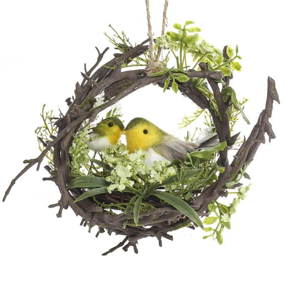 Beautiful Bird Twig Wreath for Your Sweet Home 4