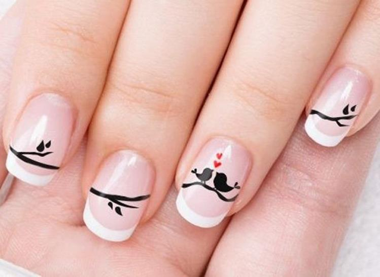Gorgeous Valentines Day Acrylic Nail Designs 19