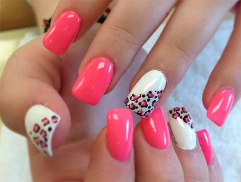 Gorgeous Valentines Day Acrylic Nail Designs 38