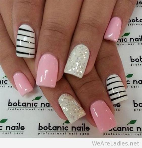 Gorgeous Valentines Day Acrylic Nail Designs 40