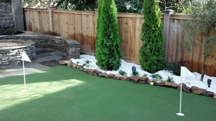 Front Yard Landscaping Ideas with White Rocks 24