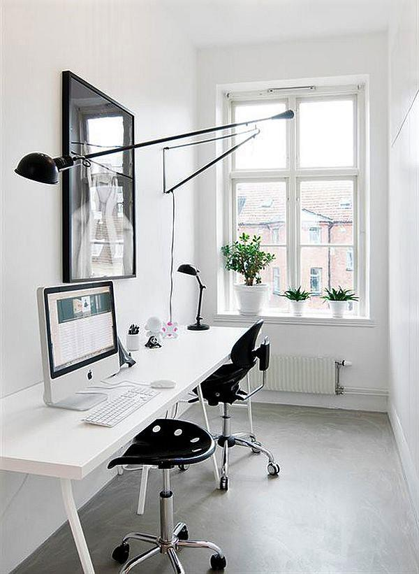 Comfy Home Workspace Decorating Ideas 13