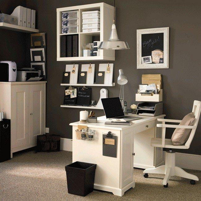 Comfy Home Workspace Decorating Ideas 27