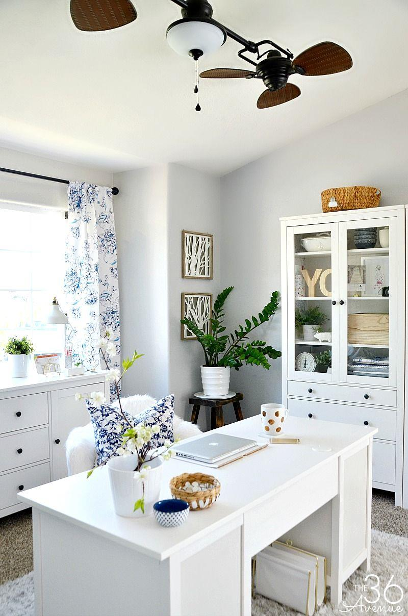 Comfy Home Workspace Decorating Ideas 5