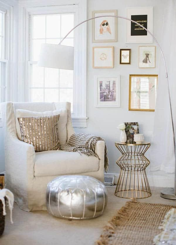 Cozy And Decorated Reading Nooks That Will Inspire You To Design Your Own Little Corner 26